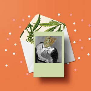 Bud Head Greeting Card