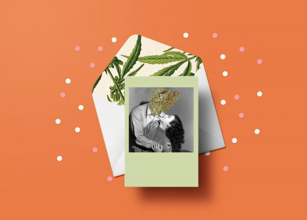 Bud Head Greeting Card